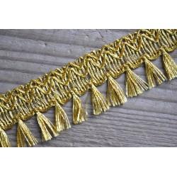 Franges Or à Pampilles 3,3 cm