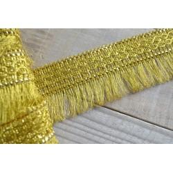 Franges Raffinées Or Bronze 5,8 cm