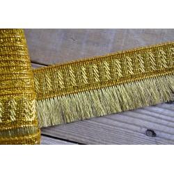 Franges Or Bronze 6,5 cm