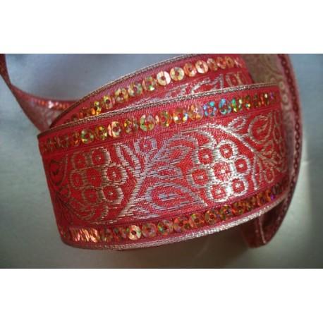 Rouge Sequins 4,2 cm