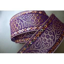 Violet Sequins 4,2 cm