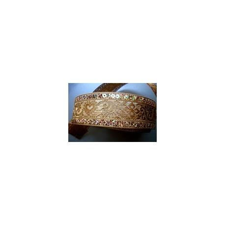 Or Coeur Sequins 3,8 cm