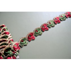 Liseron Vert & Rouge 2,4 cm