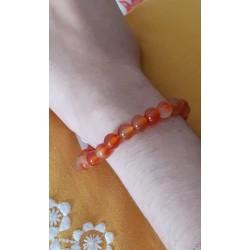 Bracelet pierre de Cornaline ENERGIE