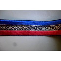 Patriotique Bleu Noir Rouge 3,2 cm