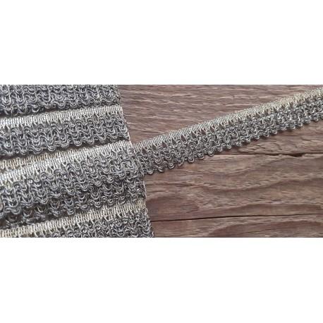 Rideau Or Gris 2,1 cm